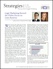Legal Marketing Around the Globe: Focus on Latin America